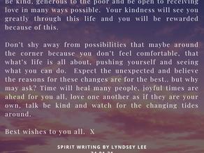 Spirit Writing.. pt2, 24th January 2021