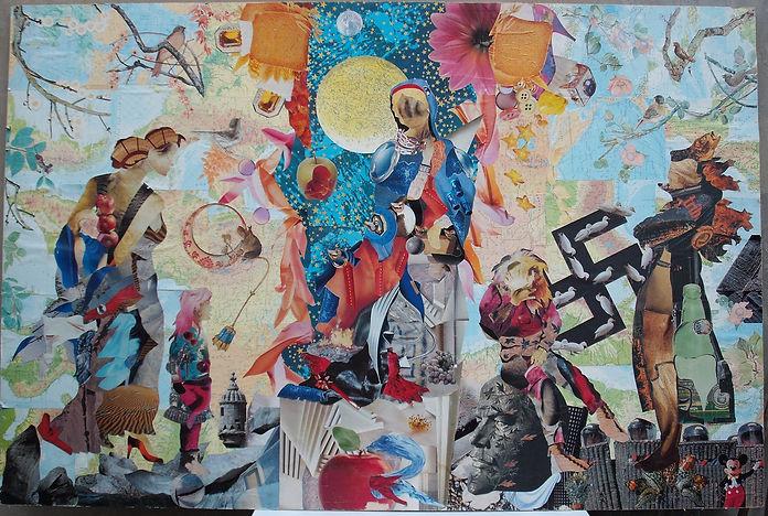 Collage puro, cm 210x140, 1998