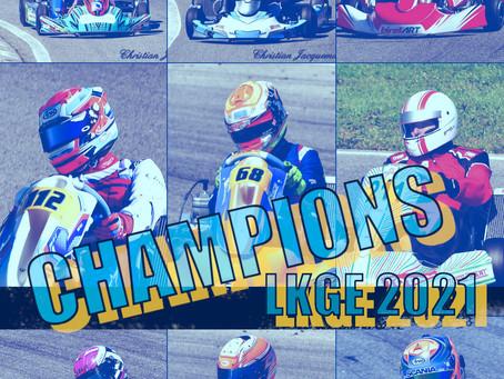 LKGE 2021 - Les Champions de Ligue sont connus!