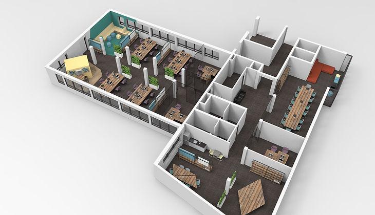 raumbauten - Planung und Design - Holmes Place - Hamburg