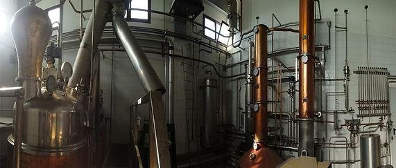 Ditta Eredi Luigi Poscia Impianto distillazione