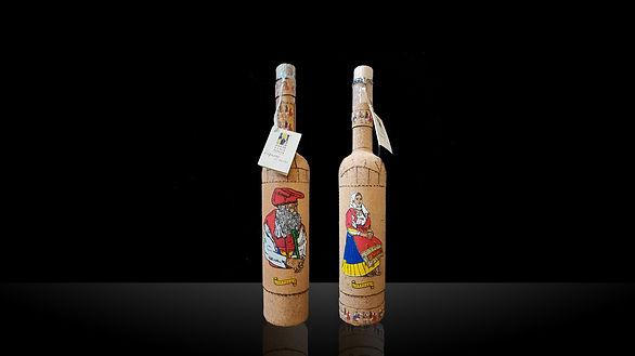 Bottiglie Mirto in sughero Eredi Luigi Poscia