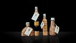 Bottiglie Mirto 20 e 10cl in sughero Eredi Luigi Poscia