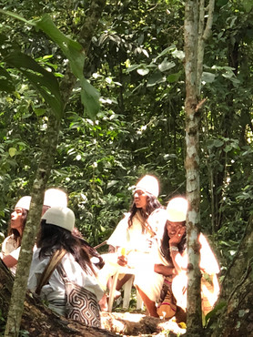 Mamos. Arhuaco Village of Seykun ~ sept 2018.