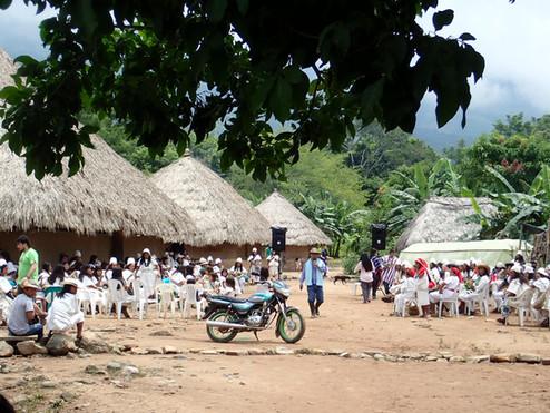 Arhuaco Village of Seykun ~ Sept 2018.