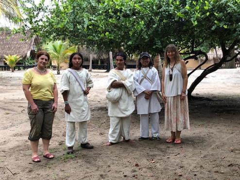 Kogi Family. Colombia ~ Sept 2018.