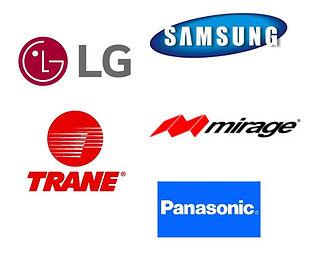 Aire acondicionado minisplit inverter LG Mirage Samsung
