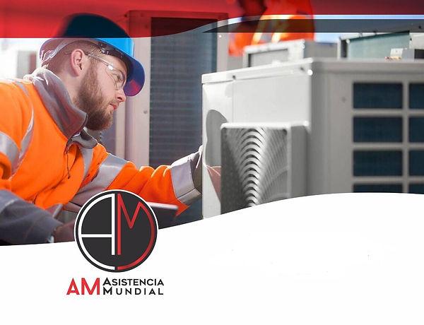 #amasistenciamundial mantenimiento aire acondicionado