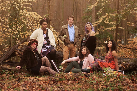 Guilford College Art Thesis Class 2019, photo by Erin Kye