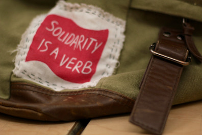 Solidarity is a Verb