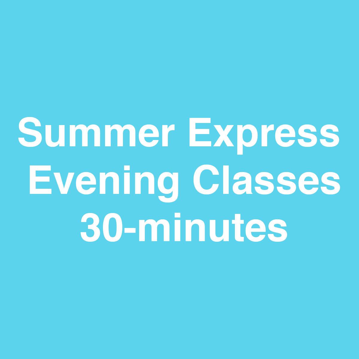 Online Summer Express Class