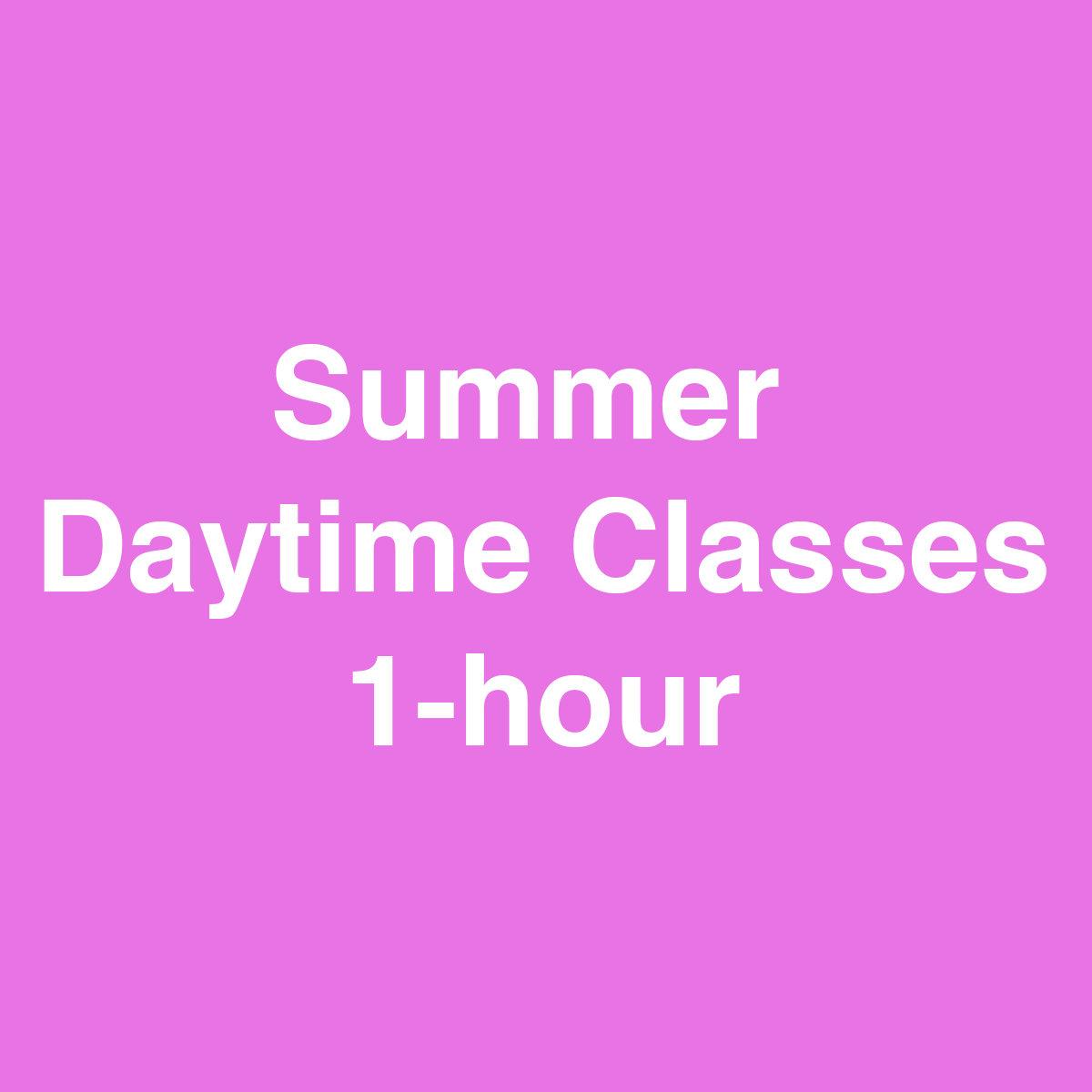 Online Summer Class - 1 hour