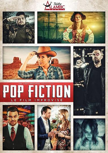 POP Fiction - Spectacle d'improvisation - Paris