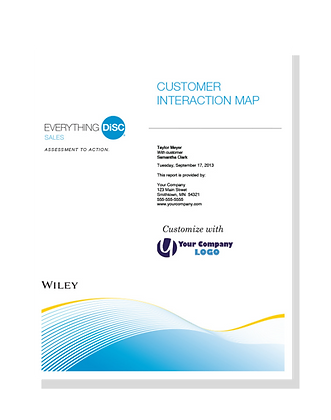 Everything DiSC Sales Customer Interacti