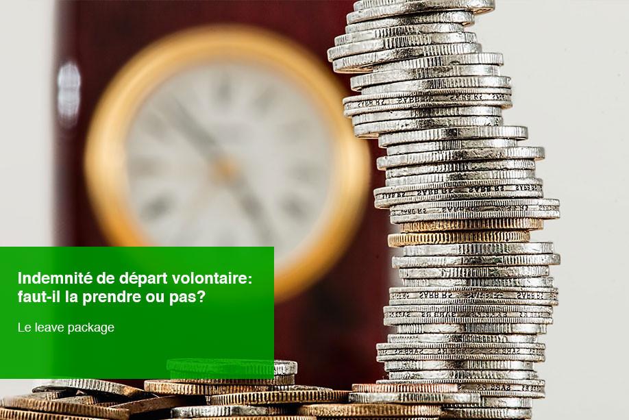 Leave package - indemnité de départ volontaire