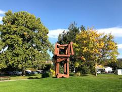 Rolle - sculpture de Jedd Novatt