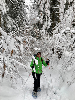 Snowshoeing in St George