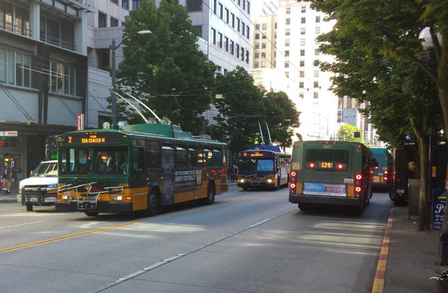 Third Ave Bus Lane Extension Study