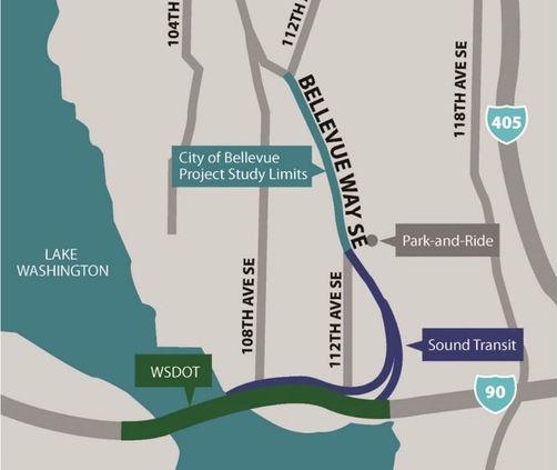 Bellevue Way HOV Project
