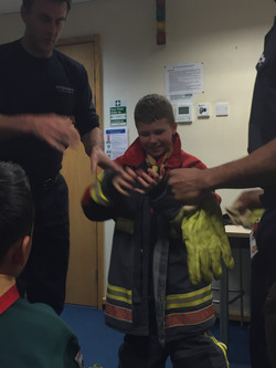 Fire Station Visit