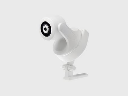 White Round Camera