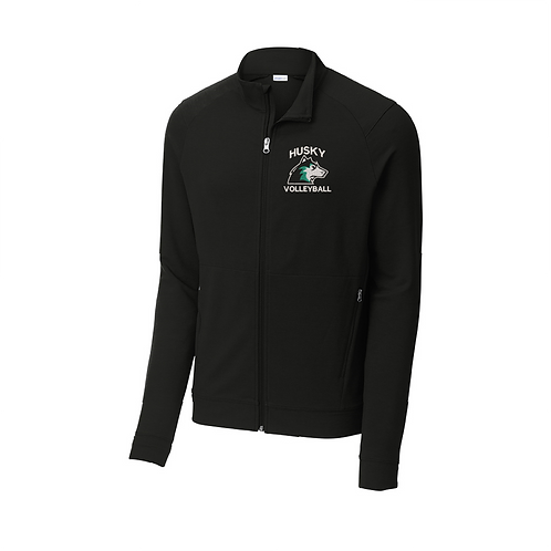 Full Zip Embroidered Jacket