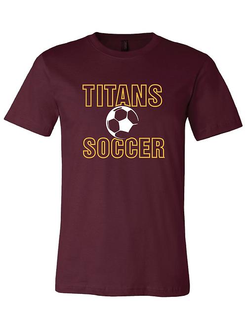Titans Soccer Unisex Bella Canvas Tees