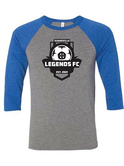 Baseball T-Shirt Legends Crest