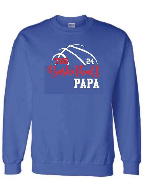 Crewneck Sweatshirt - PAPA w/ number option