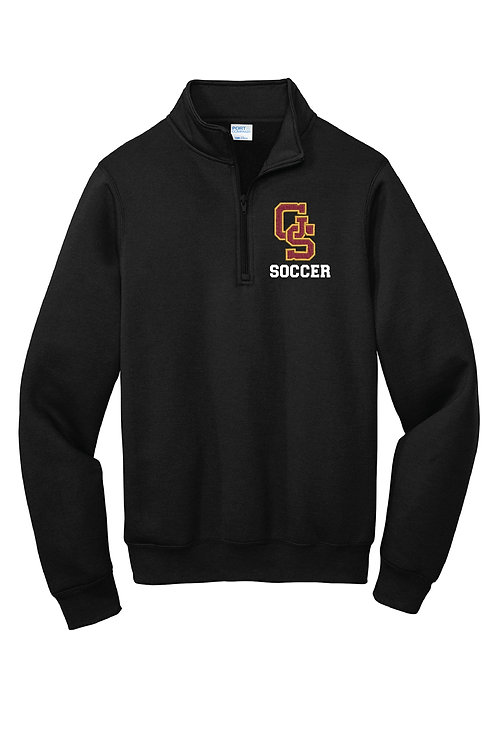 Gibson Southern Soccer Embroidered Unisex 1/4 Zip