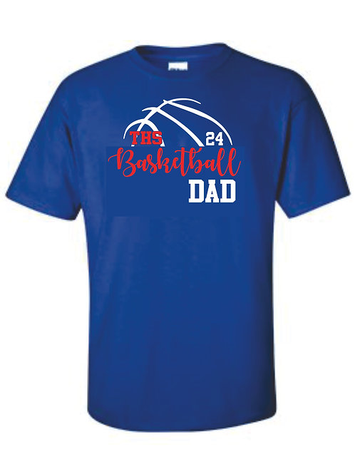Tee - DAD with number option