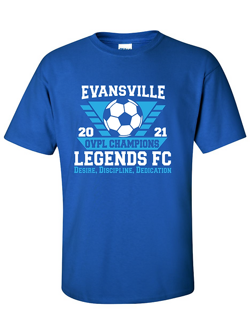 OVPL Champions T-Shirt Orders Close Aug. 2nd
