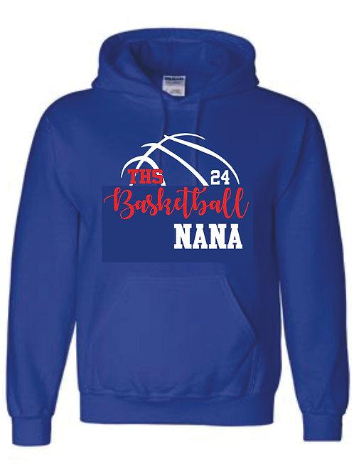Hooded Sweatshirt - NANA w/ number option