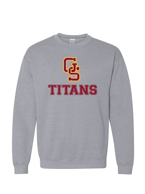 GS Titans Gildan Crewneck Unisex Sweatshirt