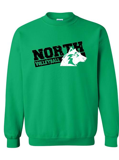 Husky Volleyball Gildan Crewneck Sweatshirt