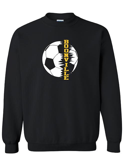 Boonville Soccer Cotton Crew Neck Sweatshirt