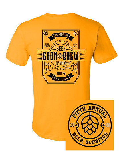 Beer Olympics 2020 Shirt