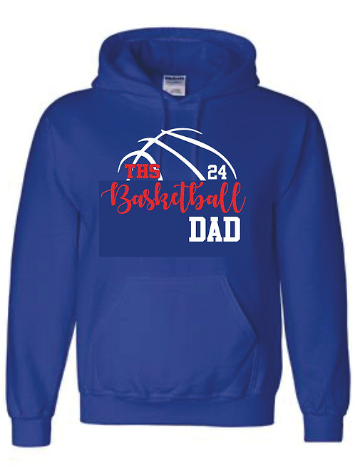 Hooded Sweatshirt - DAD w/ number option