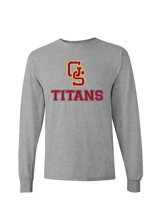 GS Titans Gildan Long Sleeve Tee