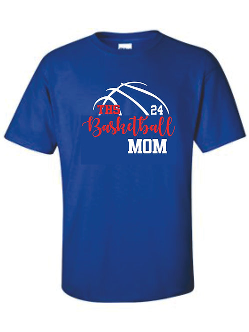 Tee - MOM with number option