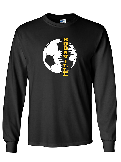 Boonville Soccer Cotton Long sleeve Tee