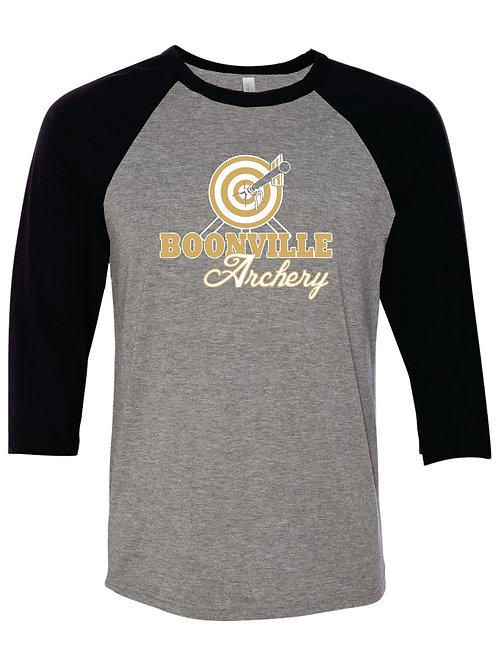 Cotton  Baseball Sleeve T Design B