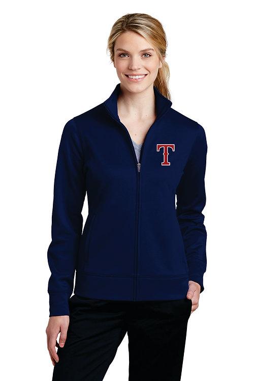Ladies Full Zip Fleece with hood- Embroidery only