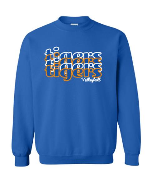 Tigers Volleyball Gildan Crewneck Sweatshirt