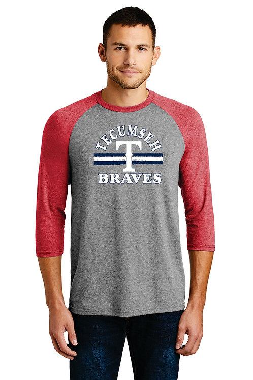 Red sleeve Men's baseball sleeve