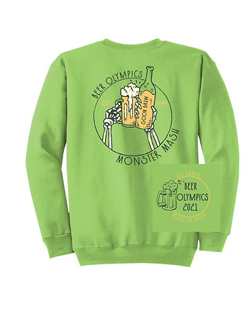 Beer Olympics Sweatshirt