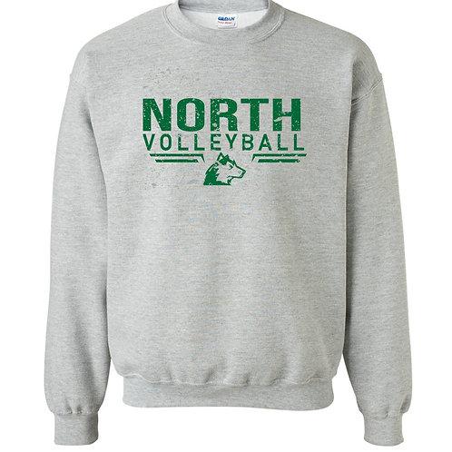 North Volleyball Gildan Crewneck Sweatshirt