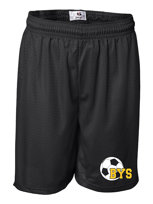 BYS Soccer Mesh Shorts - Youth and Adult
