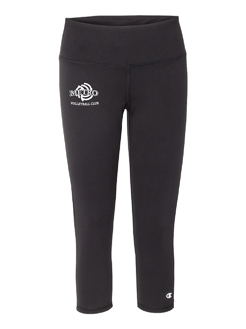 Champion  3/4 Leggings with Metro Volleyball Logo
