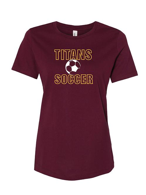 Titans Soccer Women's Bella Canvas Tees